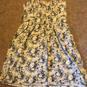 Size small juniors strapless dress